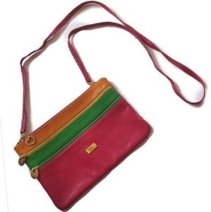 1980s Crossbody Vintage Bag by Bottega Fiorentina
